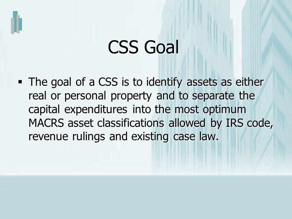 CSS Goal