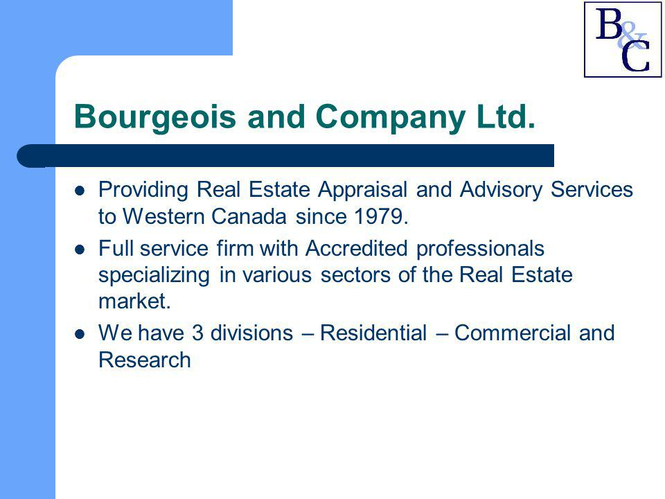 Bourgeois and Company Ltd.