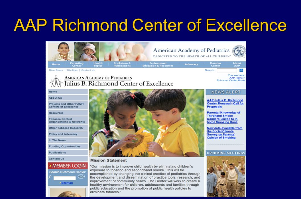 AAP Richmond Center of Excellence
