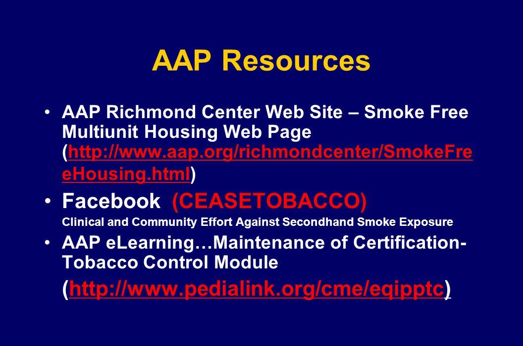 AAP Resources Facebook (CEASETOBACCO)