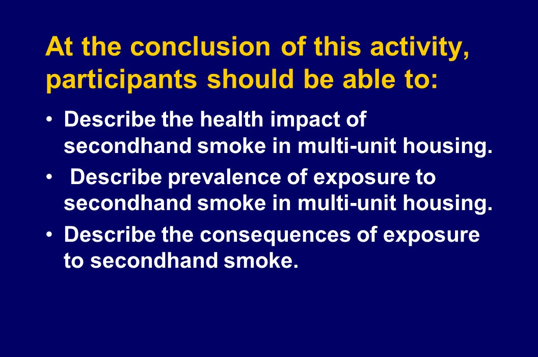 At the conclusion of this activity, participants should be able to: