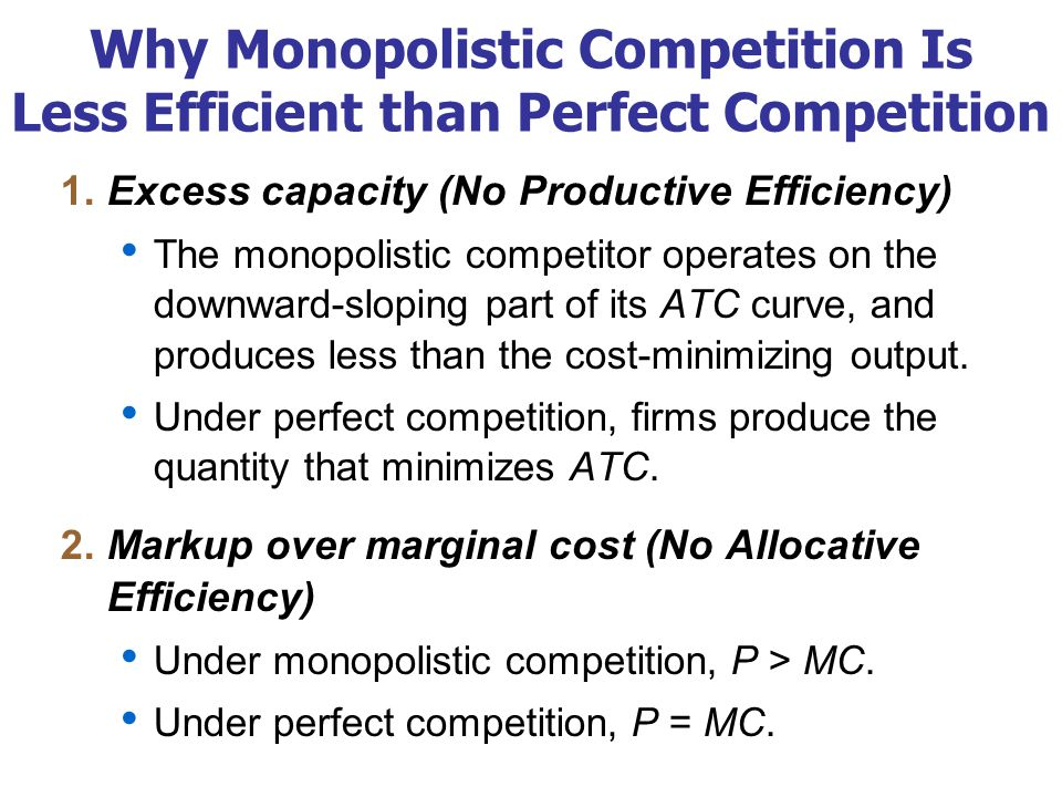 Deadweight Loss of Monopolistic Competition