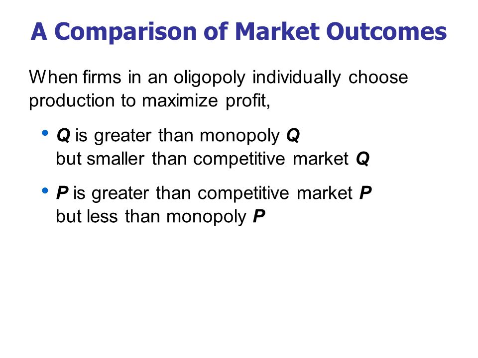 The Size of the Oligopoly