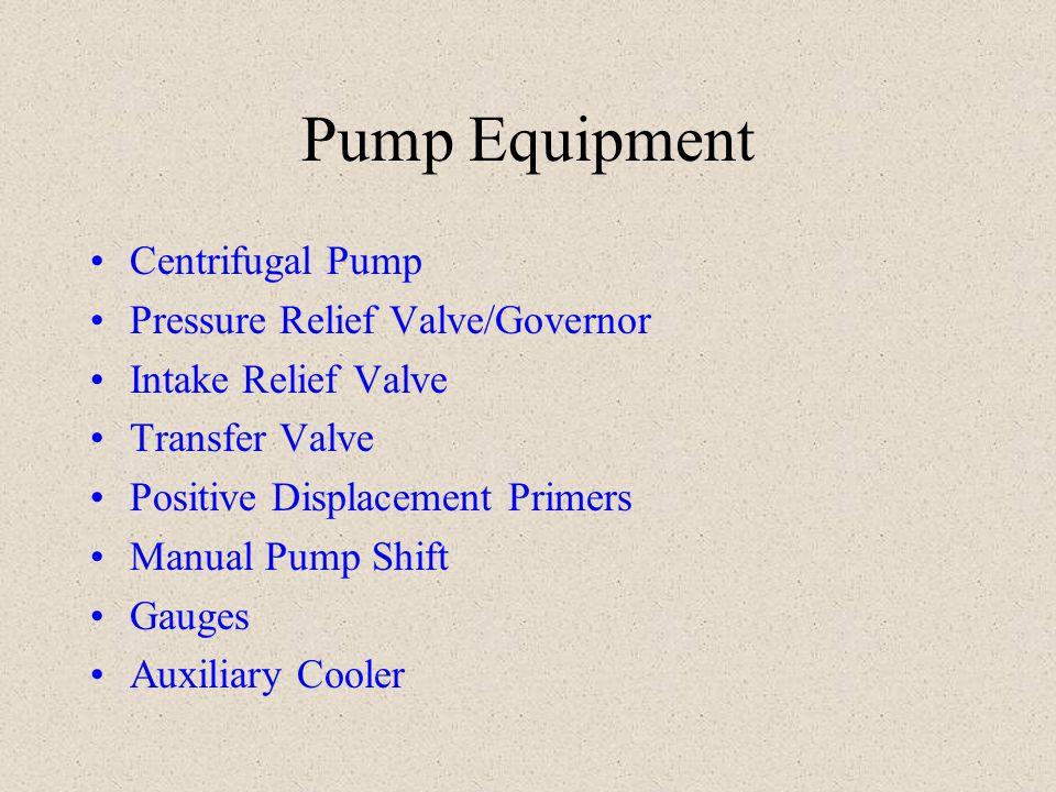Pump Equipment Centrifugal Pump Pressure Relief Valve/Governor
