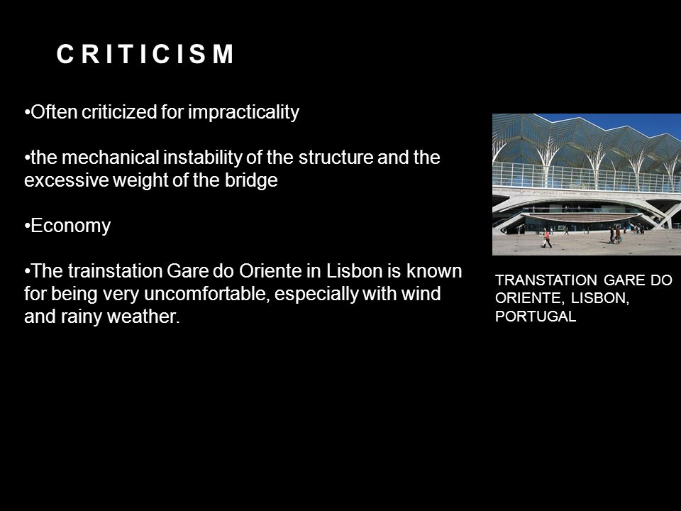 APPRAISAL The elemental and lyrical forms of Calatrava's architecture, known and loved across the globe.