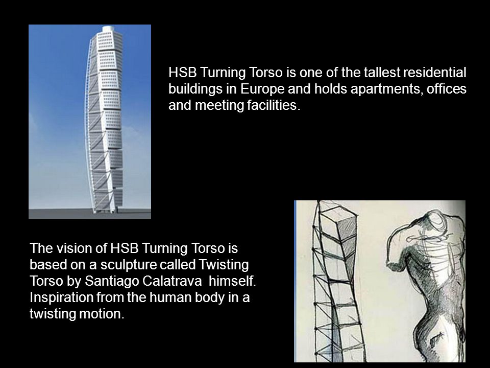 HSB, TURNING TORSO, MALMO,SWEDEN