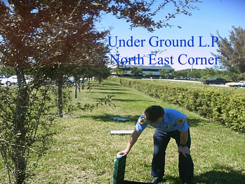 Under Ground L.P. North East Corner