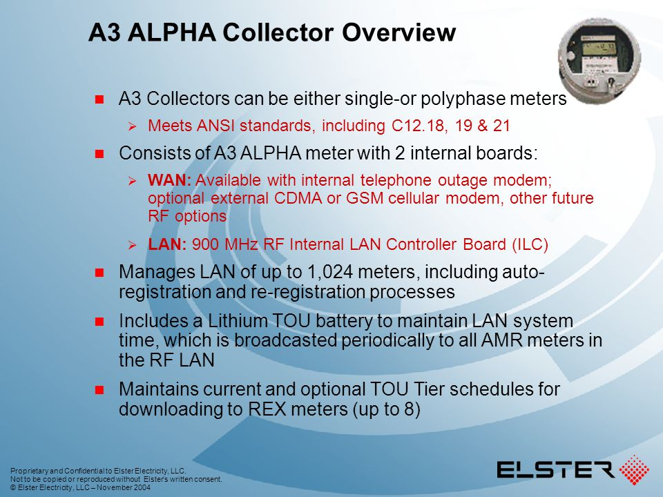 A3 ALPHA Collector Overview