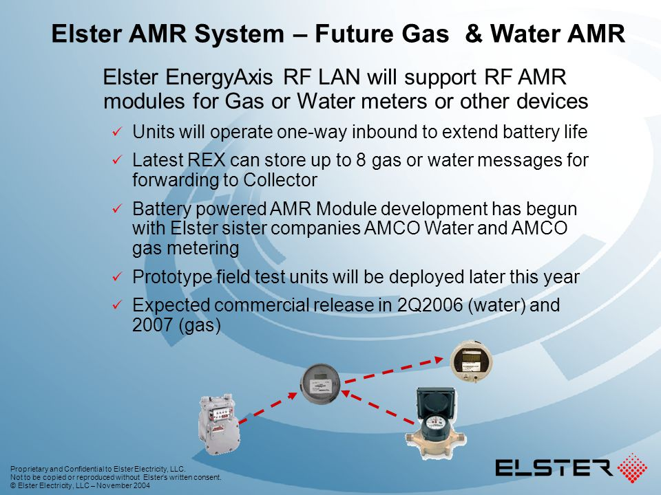 Elster AMR System – Future Gas & Water AMR