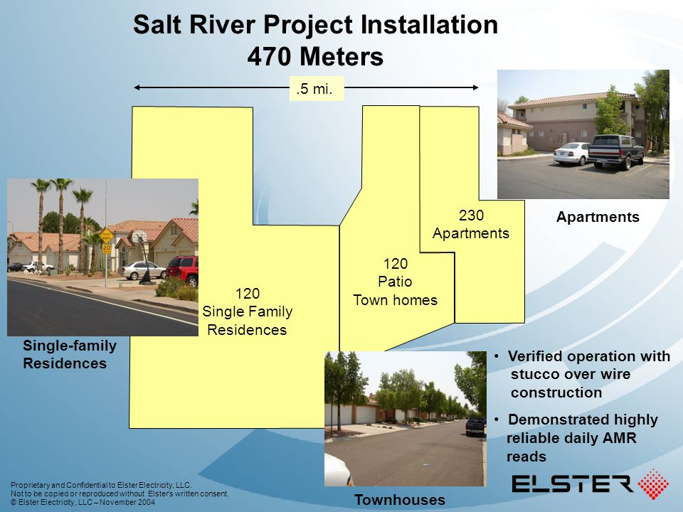 Salt River Project Installation 470 Meters
