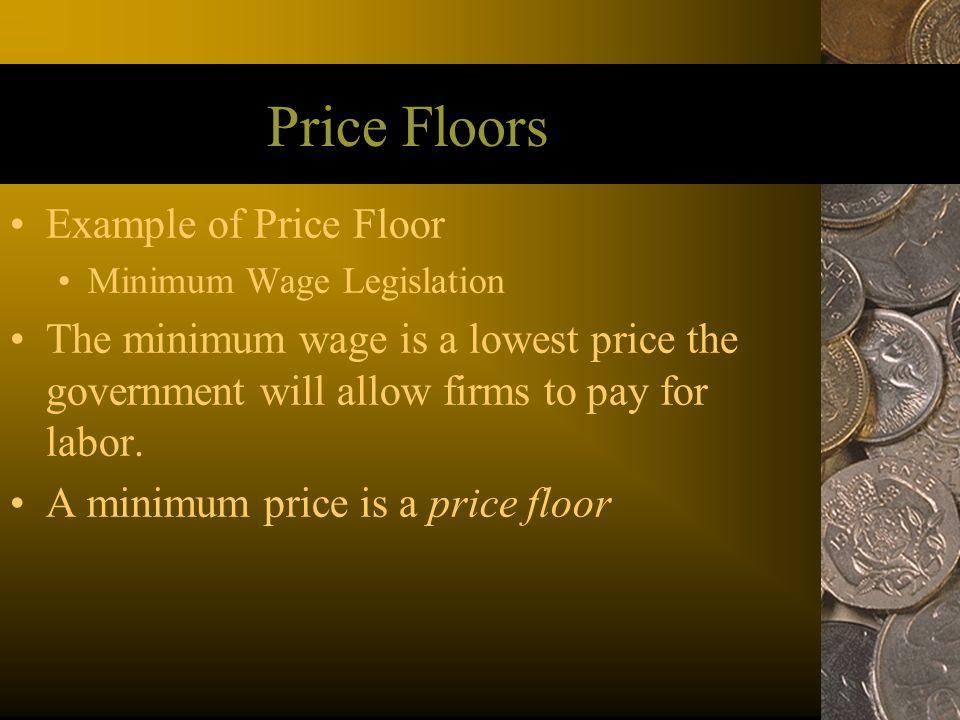 Price Floors Example of Price Floor