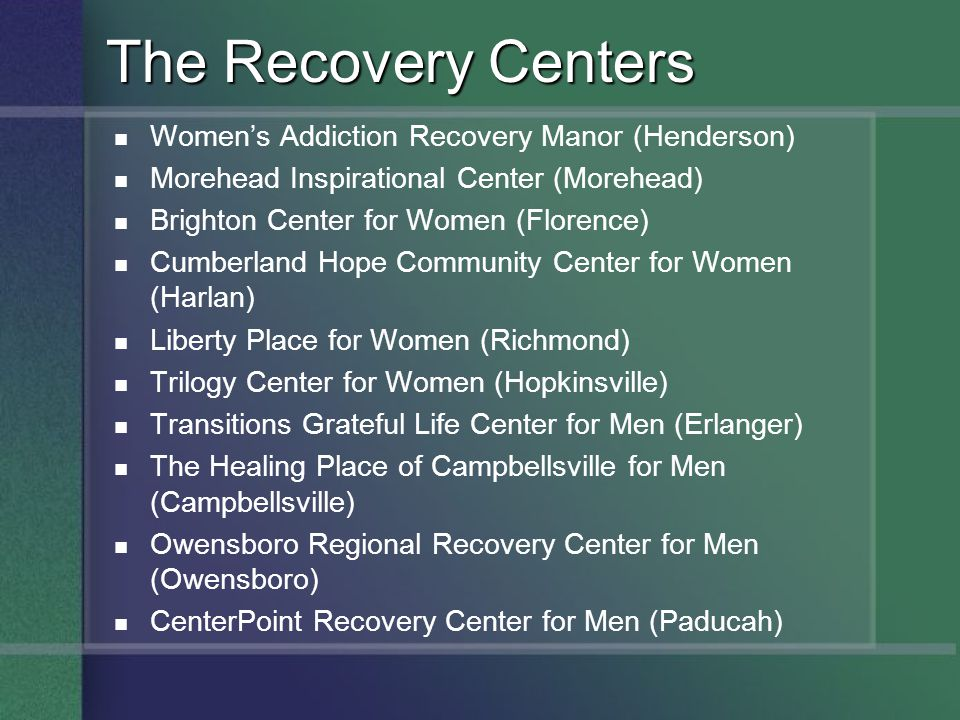 The Recovery Centers Women's Addiction Recovery Manor (Henderson)