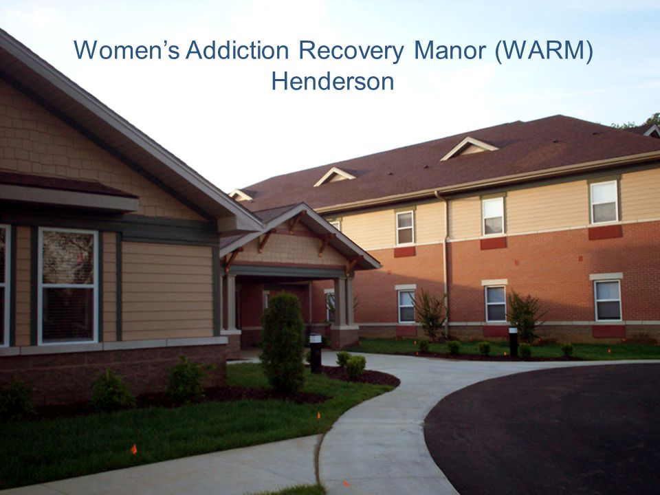 Women's Addiction Recovery Manor (WARM) Henderson