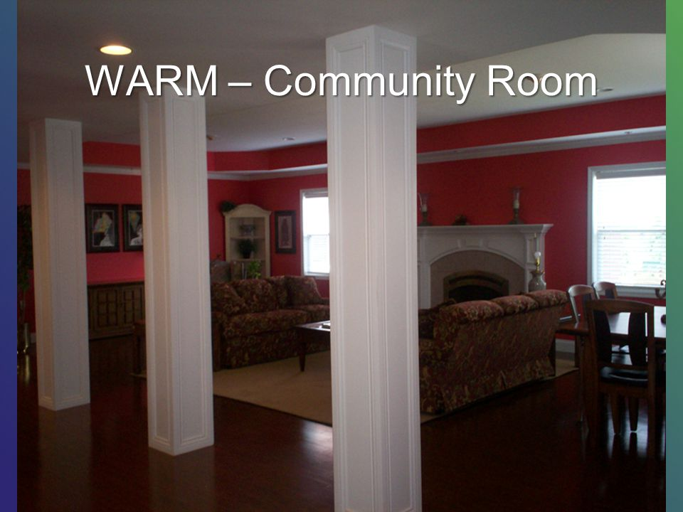 WARM – Community Room