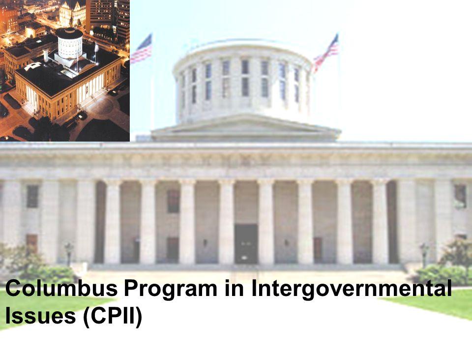 Columbus Program in Intergovernmental Issues (CPII)