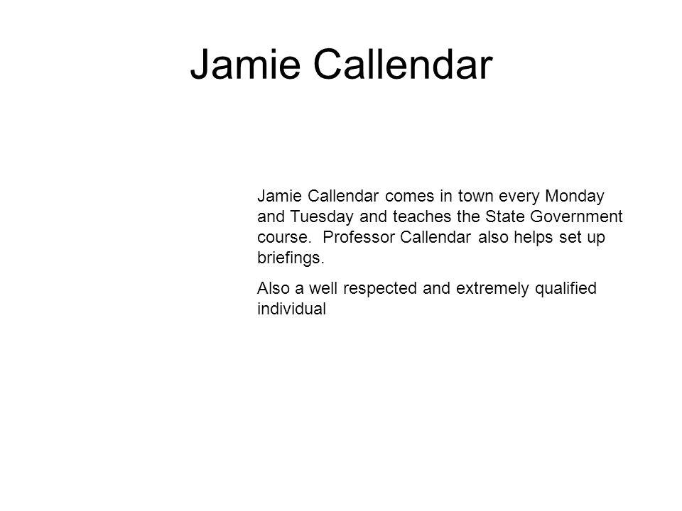 Jamie Callendar