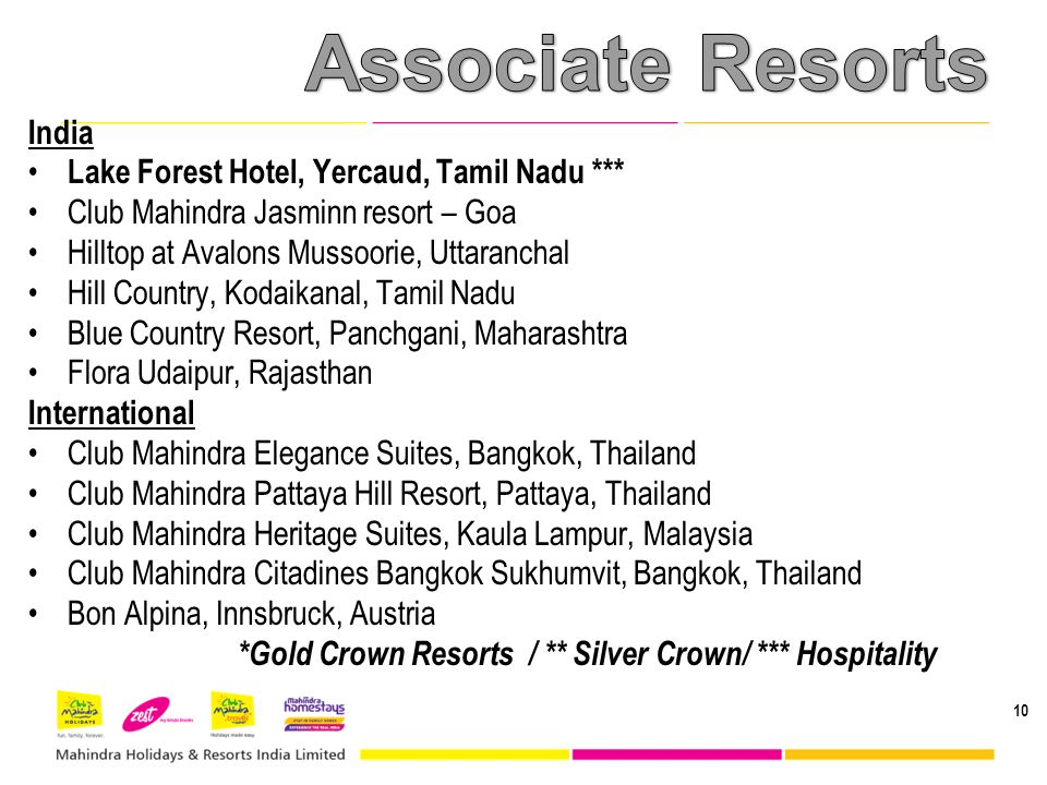 Associate Resorts India Lake Forest Hotel, Yercaud, Tamil Nadu ***