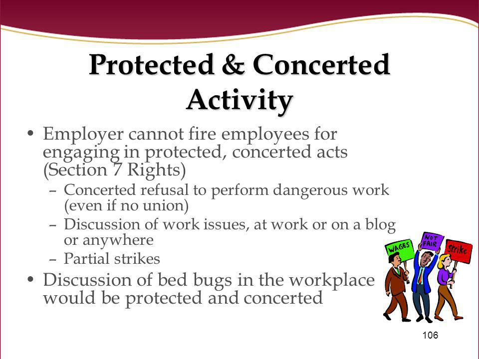 Protected & Concerted Activity