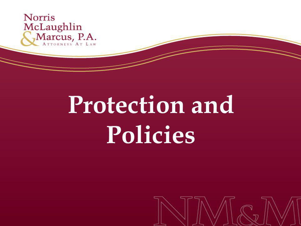 Protection and Policies