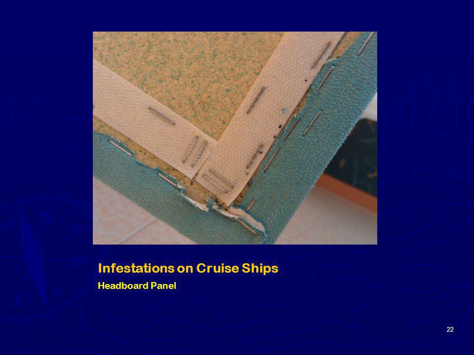Infestations on Cruise Ships