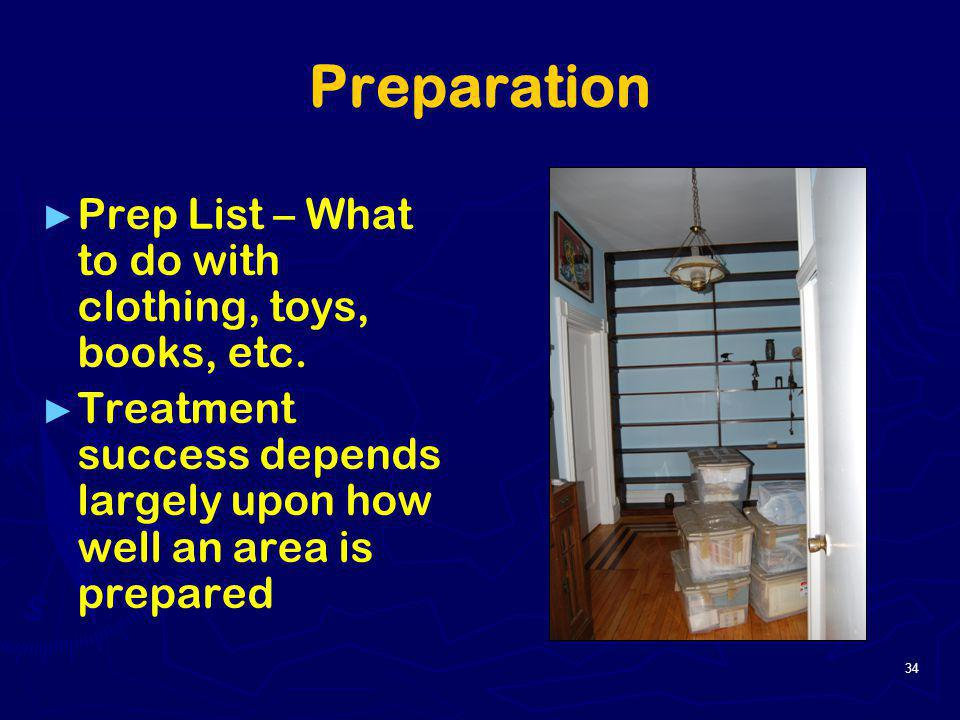 Preparation Prep List – What to do with clothing, toys, books, etc.