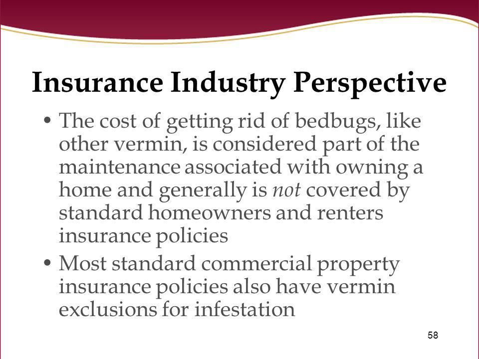 Insurance Industry Perspective