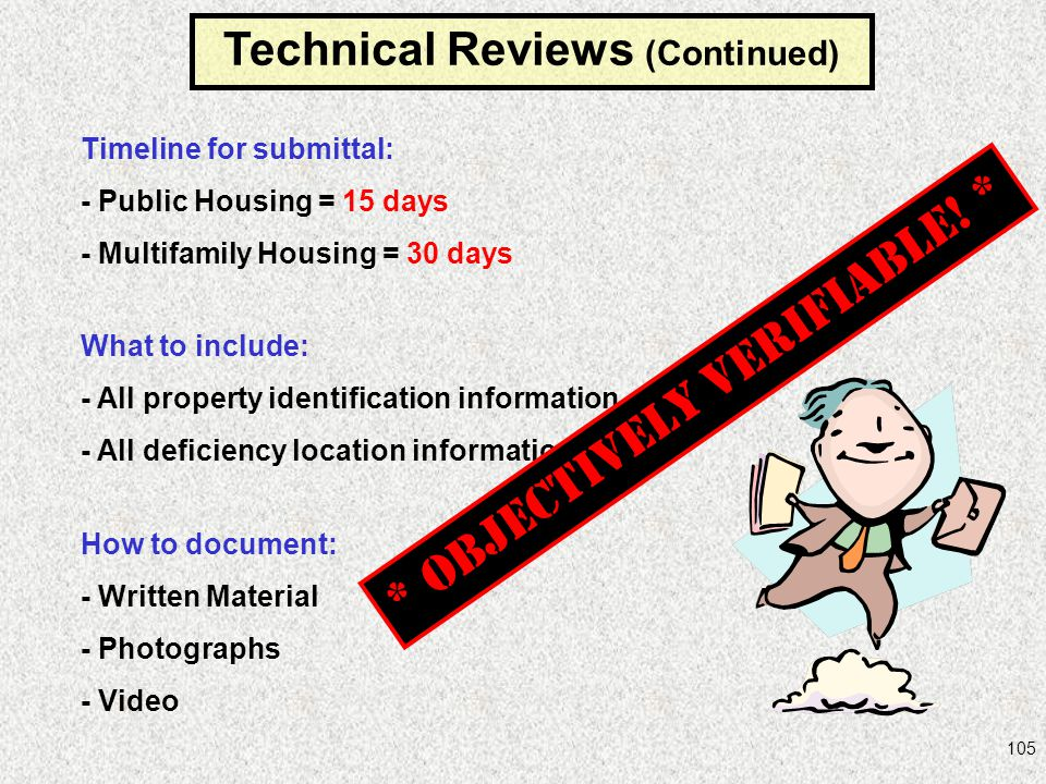 Technical Reviews (Continued)