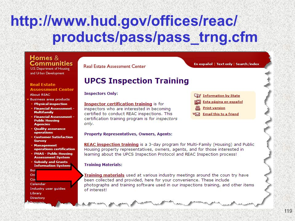 http://www.hud.gov/offices/reac/ products/pass/pass_trng.cfm