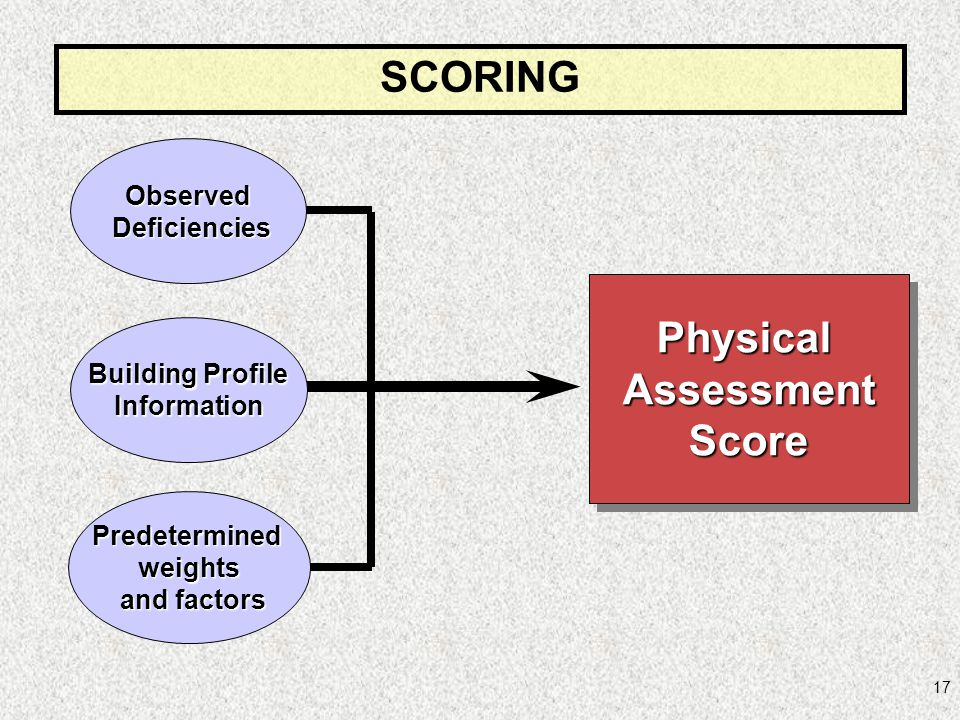 SCORING Physical Assessment Score