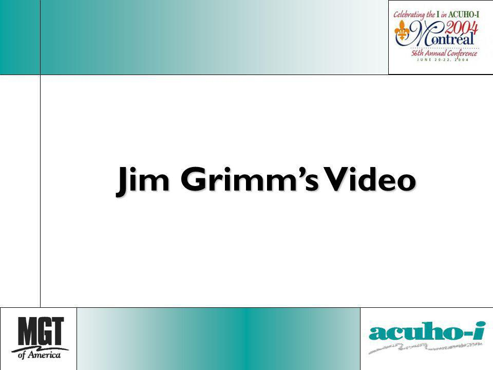 Jim Grimm's Video