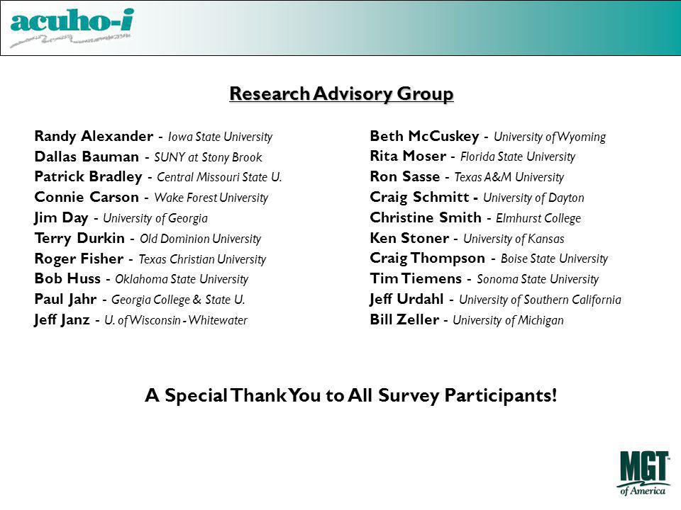 Research Advisory Group