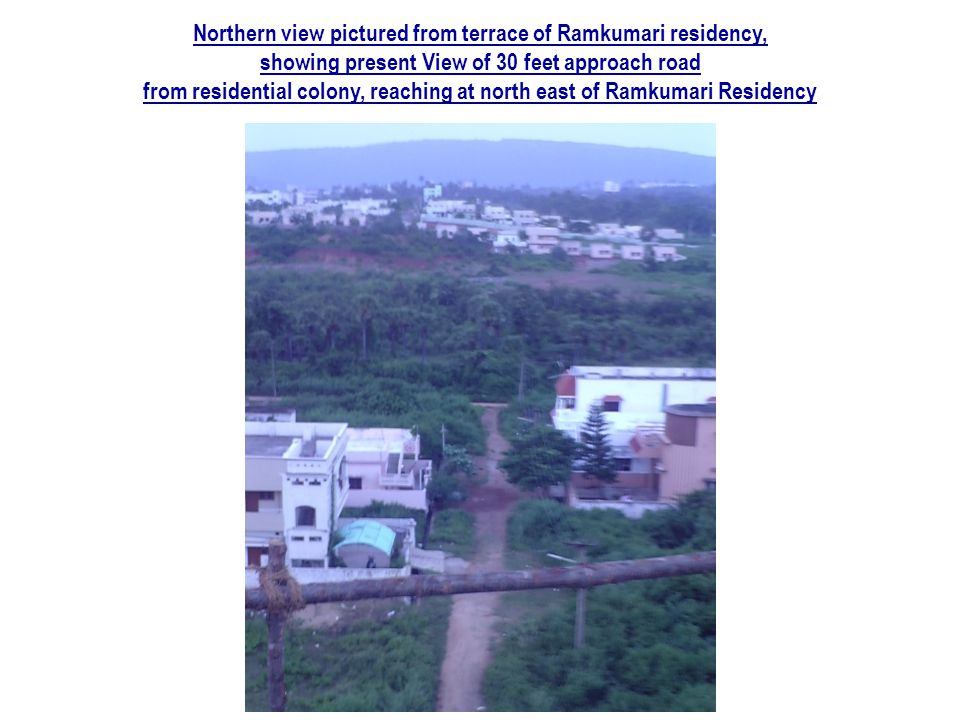 Northern view pictured from terrace of Ramkumari residency,