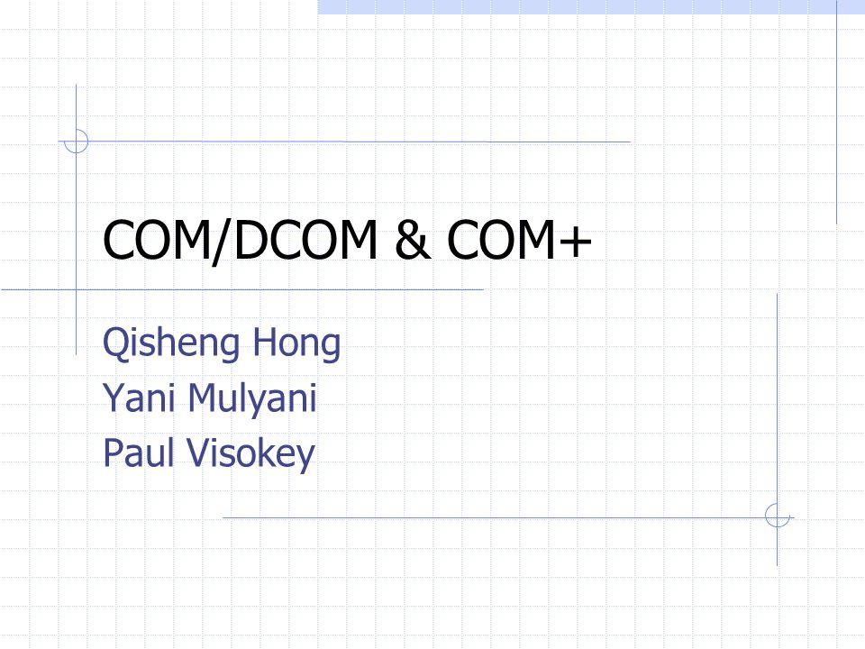Qisheng Hong Yani Mulyani Paul Visokey