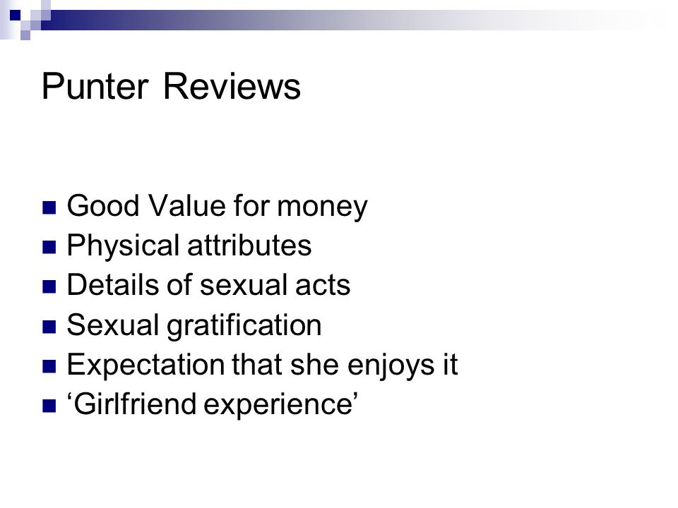 Punter Reviews Good Value for money Physical attributes