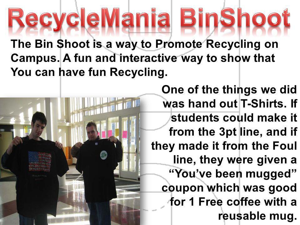 RecycleMania BinShoot