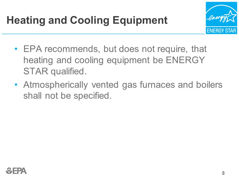 Heating and Cooling Equipment