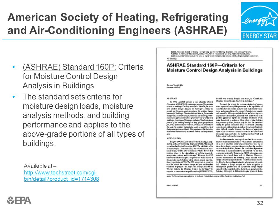 American Society of Heating, Refrigerating and Air-Conditioning Engineers (ASHRAE)