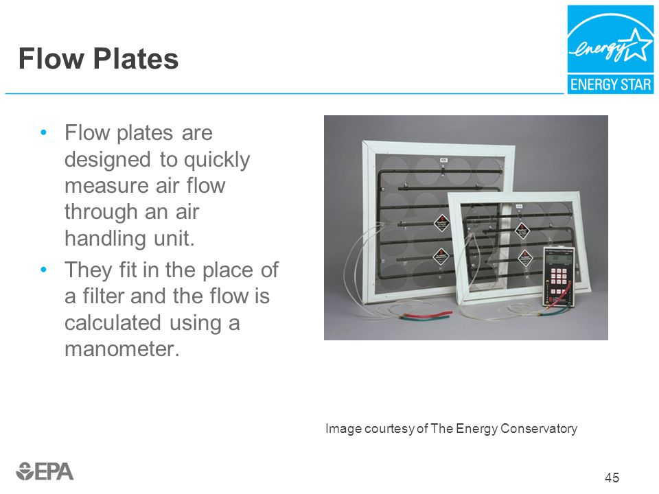 Flow Plates Flow plates are designed to quickly measure air flow through an air handling unit.