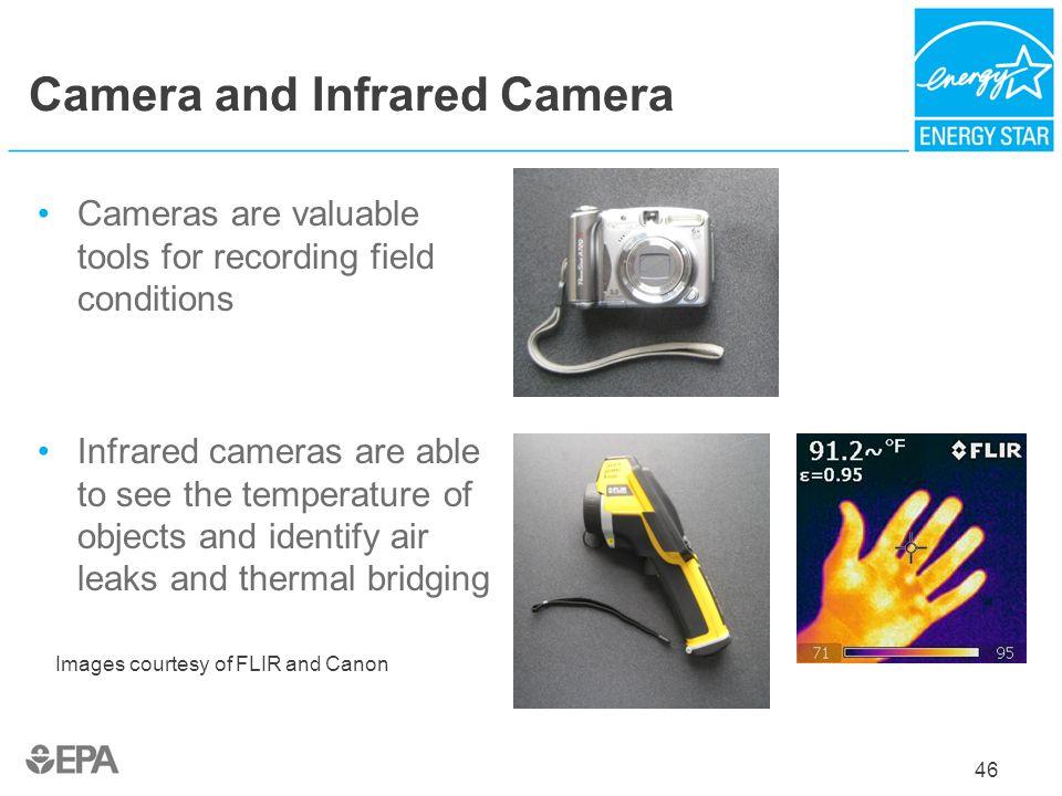 Camera and Infrared Camera