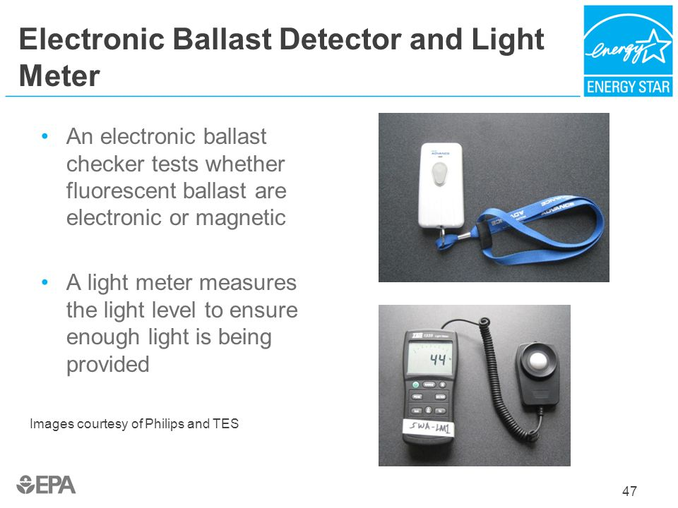 Electronic Ballast Detector and Light Meter