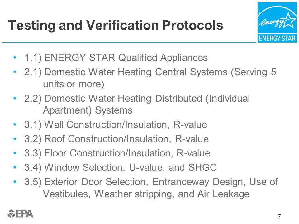 Testing and Verification Protocols