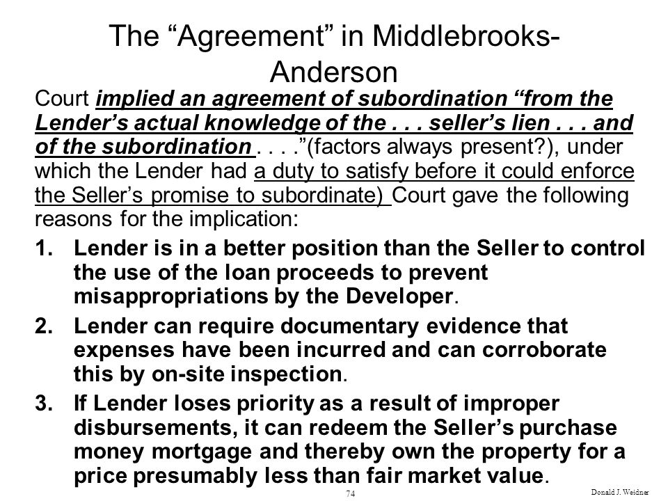 The Agreement in Middlebrooks-Anderson