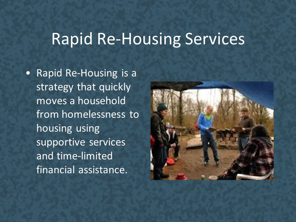 Rapid Re-Housing Services