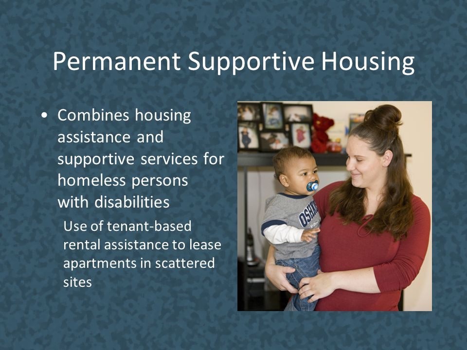 Permanent Supportive Housing