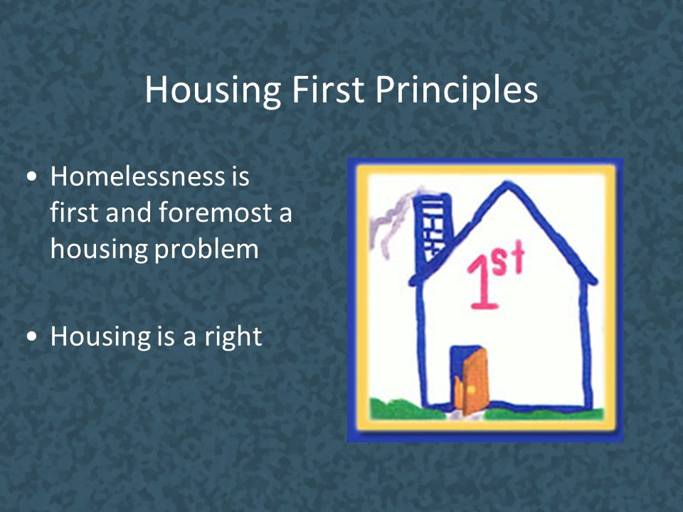 Housing First Principles
