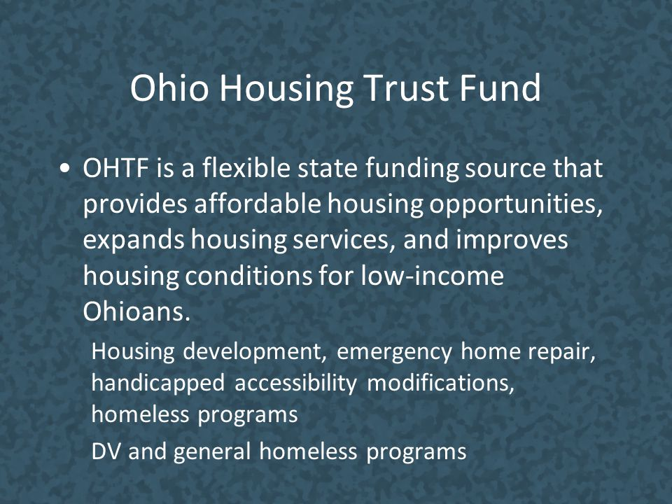 Ohio Housing Trust Fund