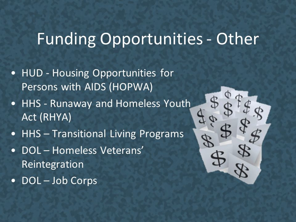 Funding Opportunities - Other