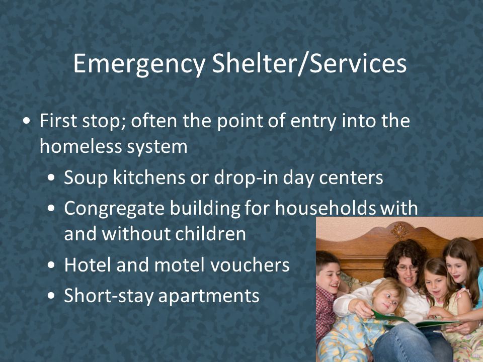 Emergency Shelter/Services