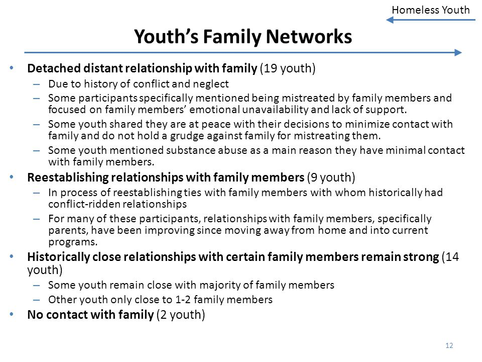 Youth's Family Networks