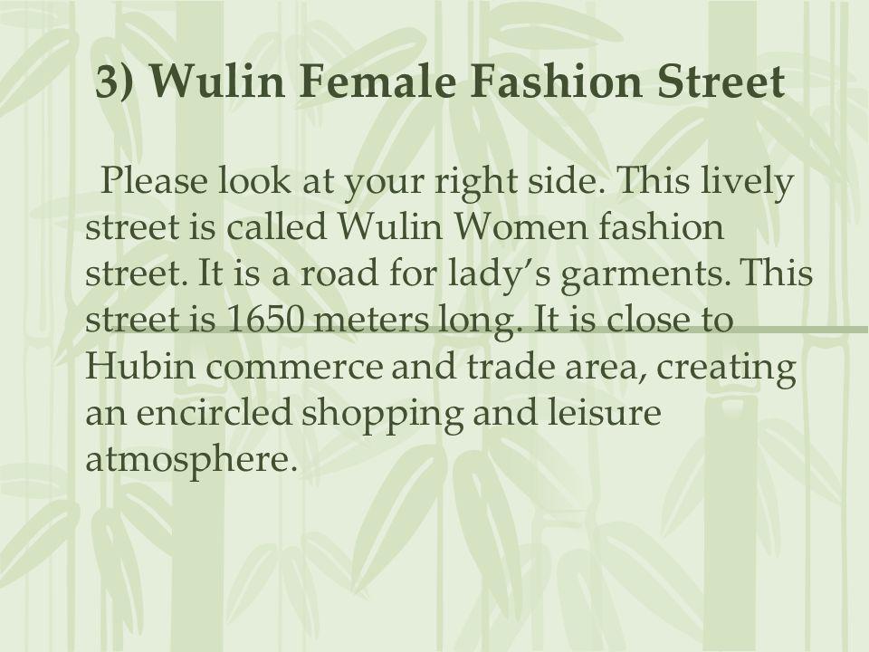3) Wulin Female Fashion Street